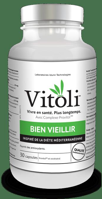Produit naturel Vitoli, vivre en santé, plus longtemps , pour bien vieillir