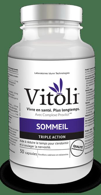Produit naturel Vitoli, vivre en santé, plus longtemps , pour les troubles du sommeil