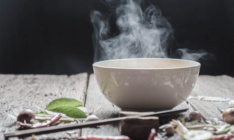 bol de soupe au thé vert