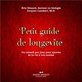 Livre Petit guide de la longévité
