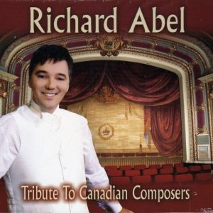 """Pochette CD """"Tribute To Canadian Composers"""""""