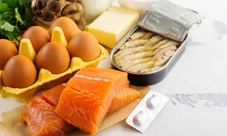 diverses sources alimentaires de Vitamine D